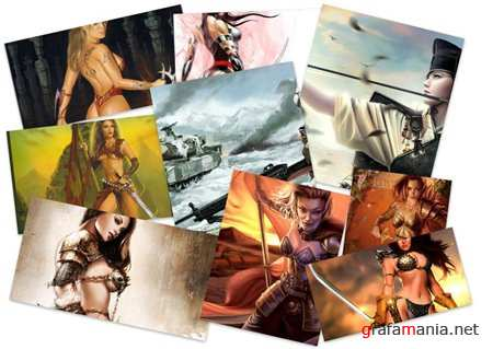 100 Amazing Godnesses of War Fantasy HD Wallpapers