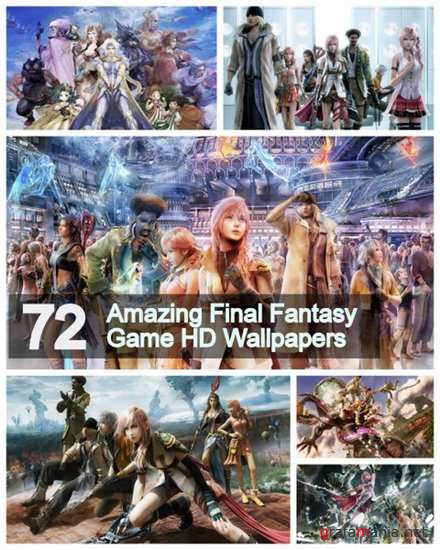 72 Amazing Final Fantasy Game HD Wallpapers