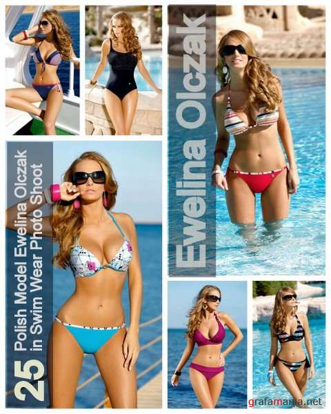 25 Polish Model Ewelina Olczak in Swim Wear Photo Shoot