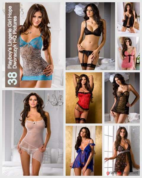 35 Playboy`s Lingerie Girl Hope Dworaczyk HQ Pictures