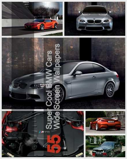 55 Super Cool BMW Cars Wide Screen Wallpapers