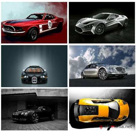 20 New Cars Scenes HD Wallpapers