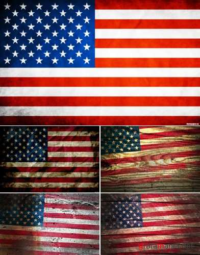 Textures - American Flags