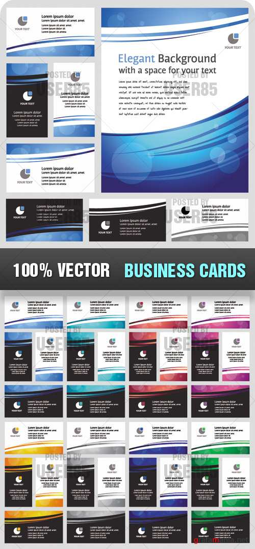 Stock Vector - Business Cards