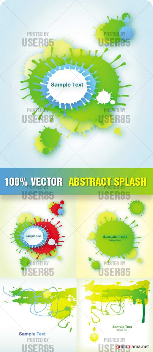 Stock Vector - Abstract Splash