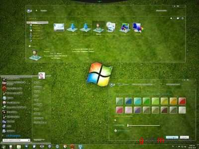 Full grass for windows 7 themes