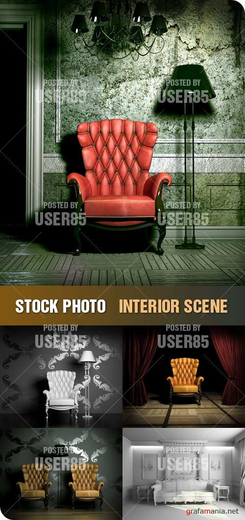 Stock Photo - Interior Scene