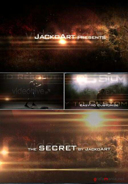 Videohive After Effects Project the secret 113201