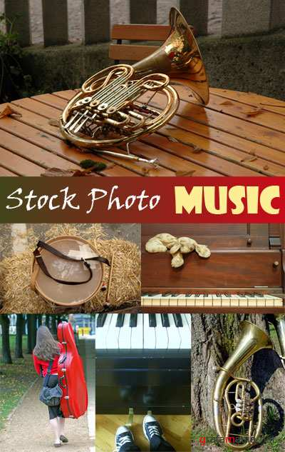 Stock Photo Music 1