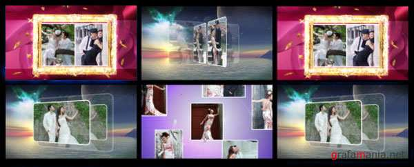 3D Album Honeymoon (ENG) - After Effects Projects