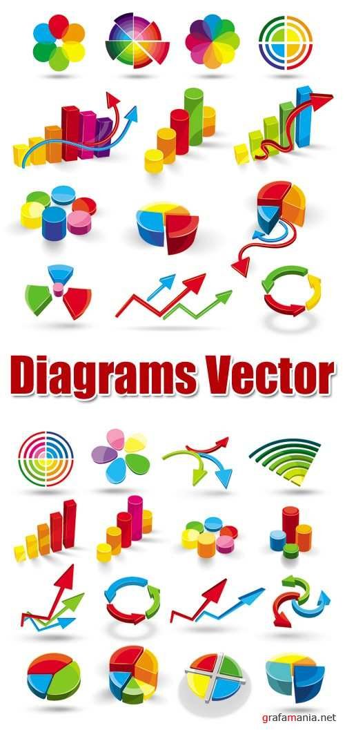 Diagrams Vector