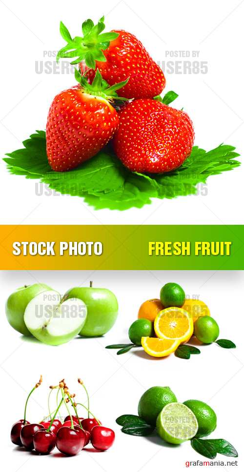 Stock Photo - Fresh Fruit
