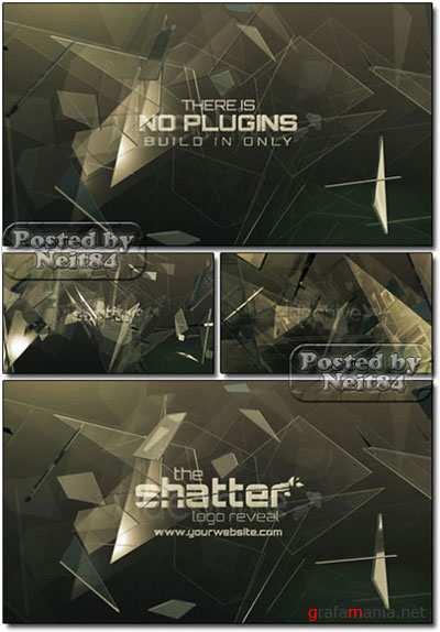VideoHive AE Project The Shatter