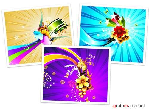 Stock vector - Color Backgrounds
