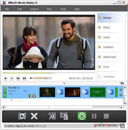 Xilisoft Movie Maker 6.0.4.0810 Portable
