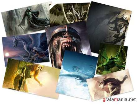 Amazing Mythical Creatures HQ Wallpapers