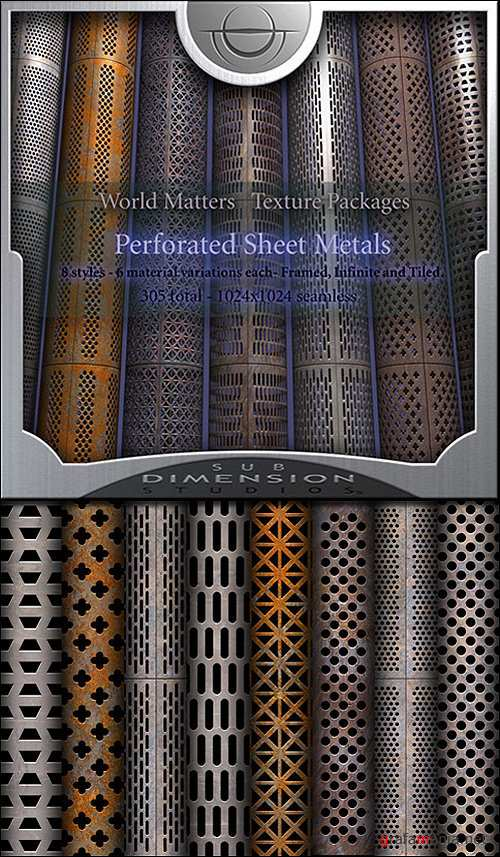 Sub Dimension Studio - World Matters Perforated Metals