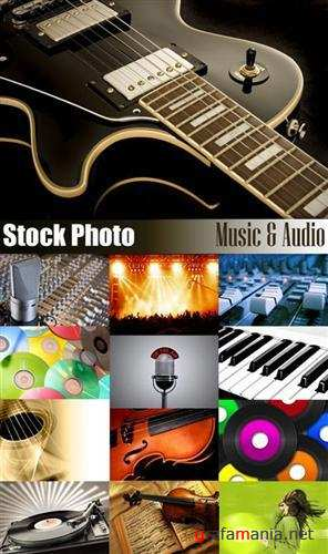 Stock Photo - Music and Audio