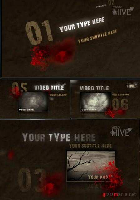 Videohive After Effects Project trash ink 35555