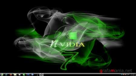 NVidia Black Theme for Windows 7