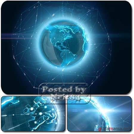 VideoHive motion Global connect