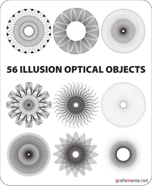 56 ILLUSION OPTICAL OBJECTS