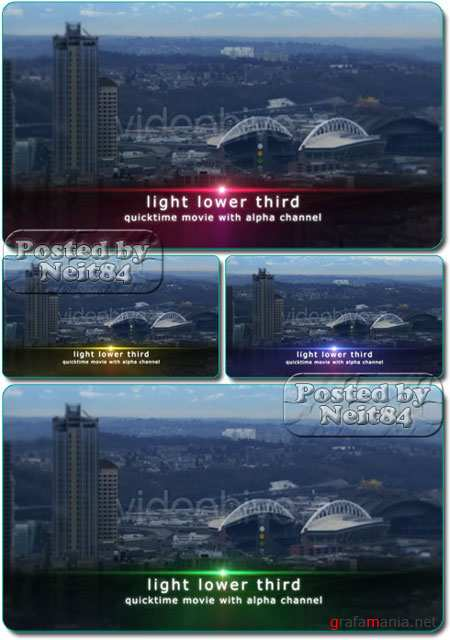 VideoHive motion Light Lower Third