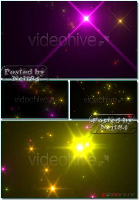 VideoHive motion loop stars