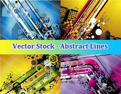 Vector Stock - Abstract Lines