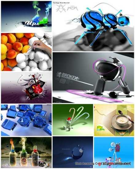 45 Best Amazing Cool 3D Style Wallpapers