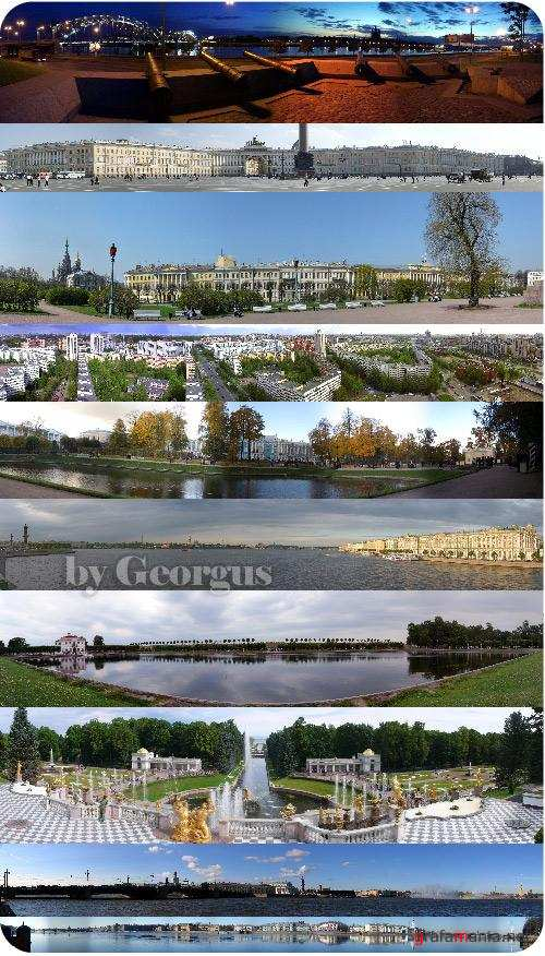 Panoramas of St. - Petersburg