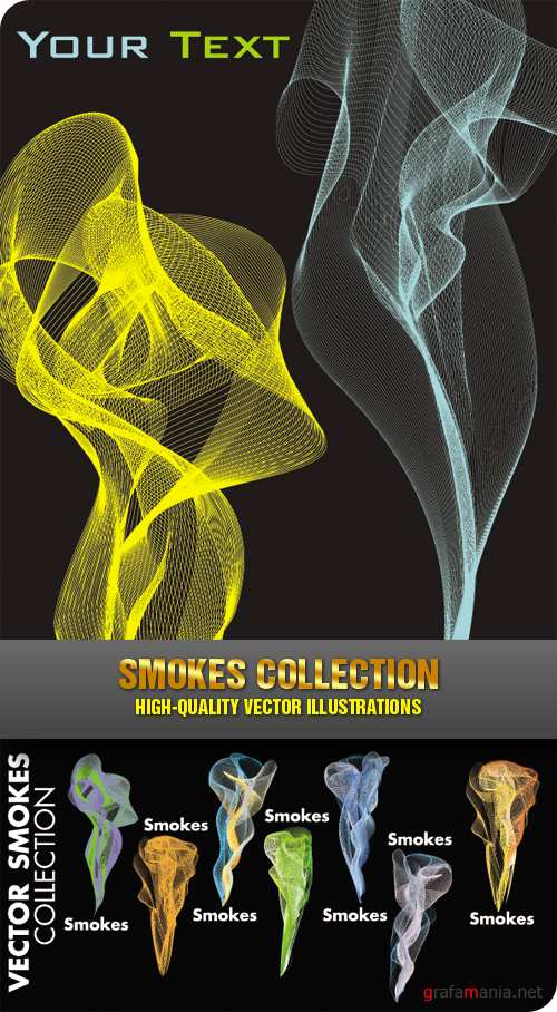 Stock Vector - Smokes Collection