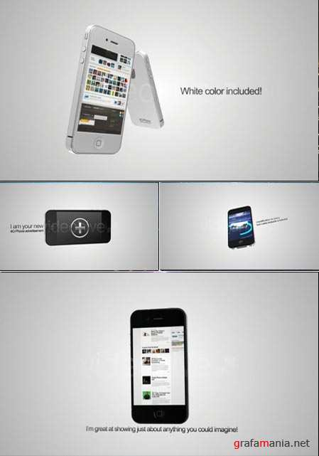 Videohive After Effects Project 4g phone advertisement 116157