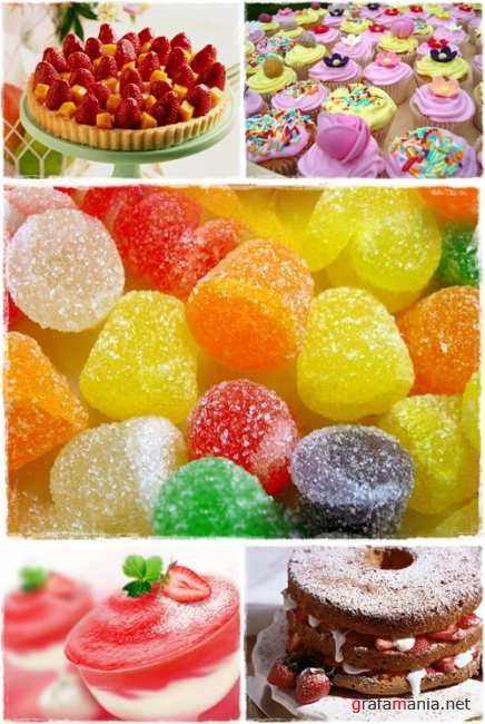 Wallpapers - Sweets and Cakes Pack