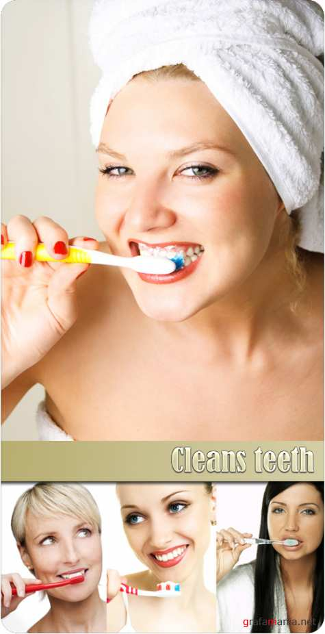 Cleans teeth