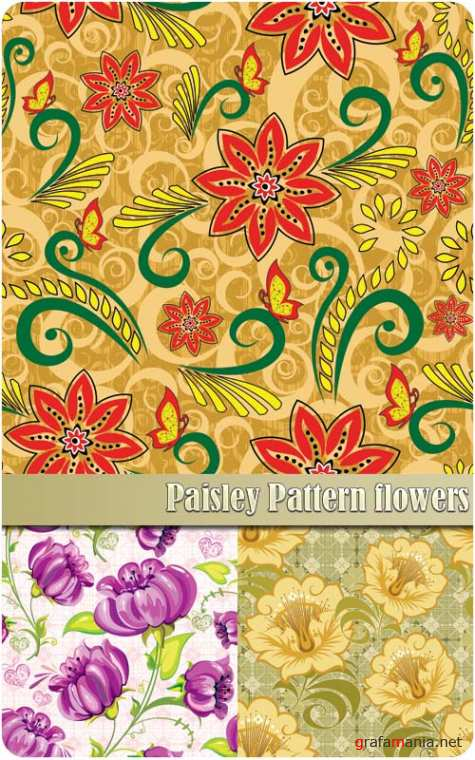 Paisley Pattern flowers