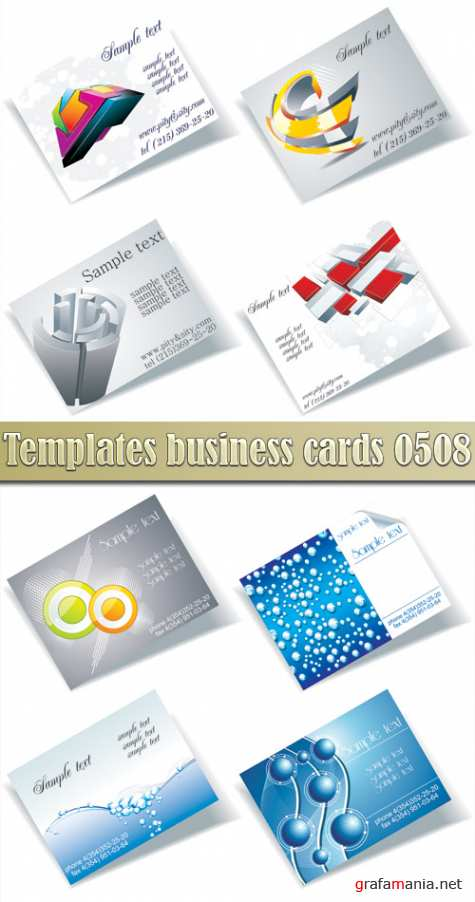 Templates business cards 05_08