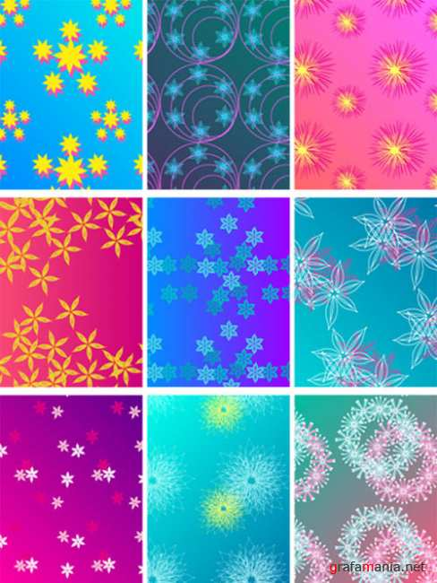 Stock Vector � Colorful Flower background