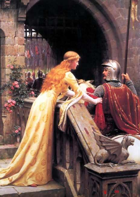 Романтизм и прерафаэлитизм. Художник Edmund Blair Leighton