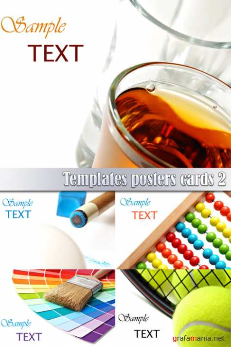 Templates posters cards 2