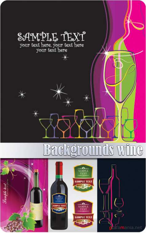 Backgrounds wine