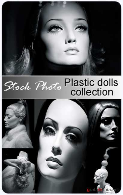 Plastic dolls collection