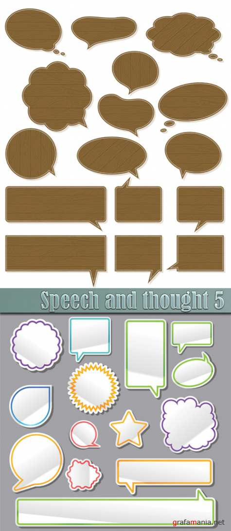 Speech and thought 5