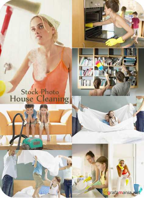 Stock Photo - House Cleaning