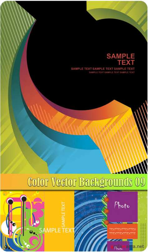 Color Vector Backgrounds 09