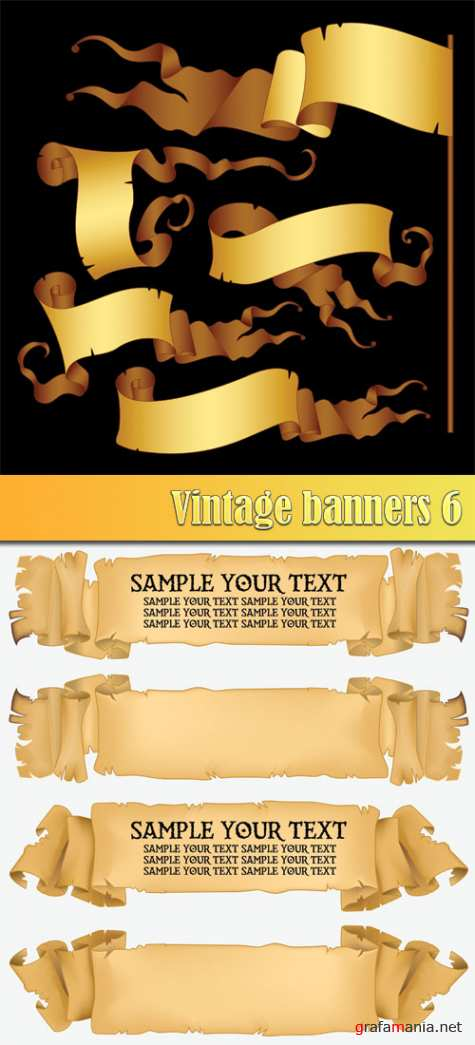 Vintage banners 6