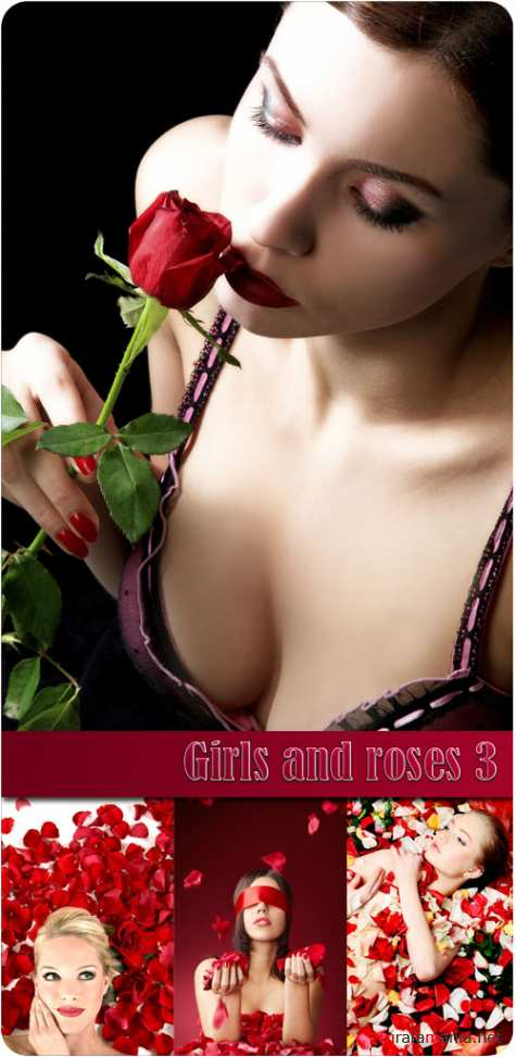 Girls and roses 3