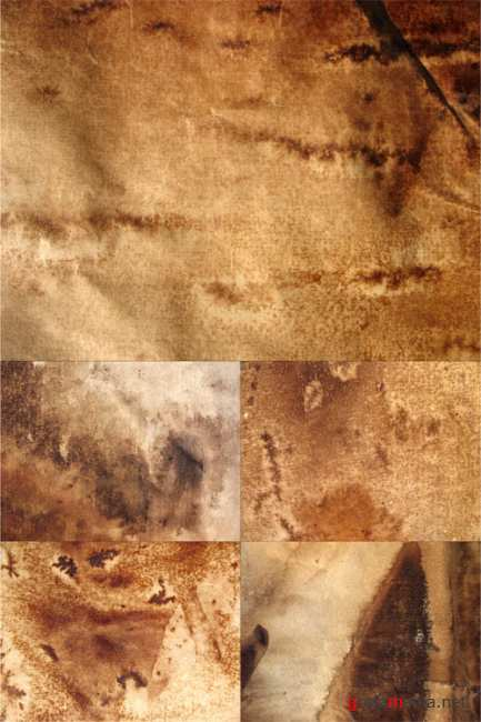 Stained paper textures 2