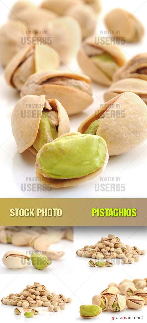 Stock Photo - Pistachios