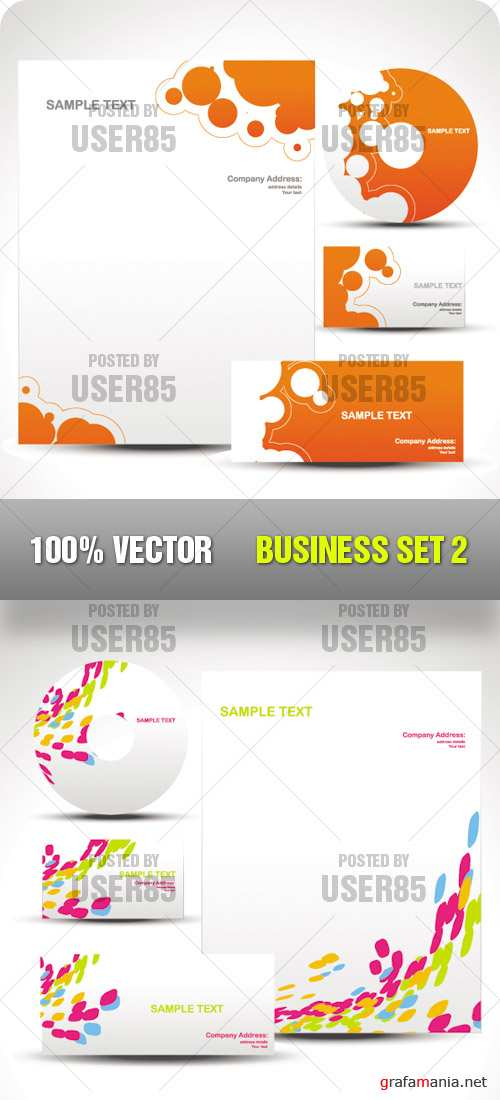 Stock Vector - Business Set 2
